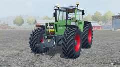 Fendt Favorit 615 LSA Turbomatik chateau green para Farming Simulator 2013