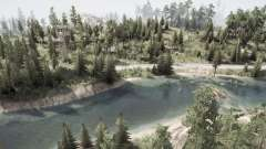 El río para MudRunner