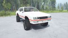 Chevrolet Monte Carlo SS 1986 lifted para MudRunner