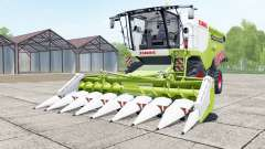 Claas Lexion 740 green and white para Farming Simulator 2017