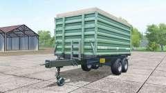 Brantner TA 14045 XXL poisonous-green para Farming Simulator 2017