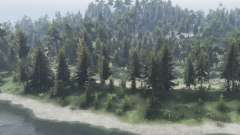 The Forest Roads para Spin Tires