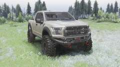 Ford F-150 Raptor para Spin Tires