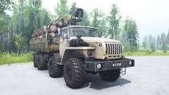 Ural 6614 color beige para MudRunner
