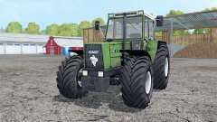 Fendt Favorit 611 LSA Turbomatik aqua forest para Farming Simulator 2015