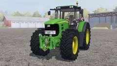 John Deere 7530 Premium ɠreen para Farming Simulator 2013