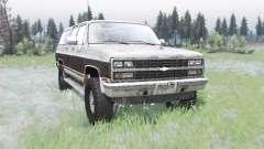 Chevrolet K1500 Suburban 1989 para Spin Tires