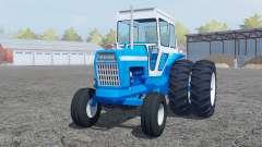 Ford 8000 pure cyan para Farming Simulator 2013