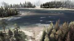 Amplio río para MudRunner