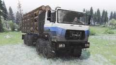 Ural-M 532362-70 para Spin Tires