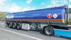 El semirremolque tanque de Mammut para Euro Truck Simulator 2