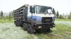 Ural-M 532362-70 para MudRunner
