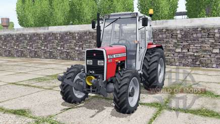 Massey Ferguson 372 bright red para Farming Simulator 2017