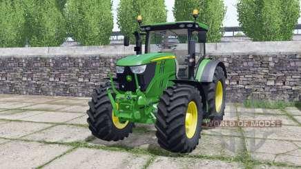 John Deere 6195R FL console para Farming Simulator 2017