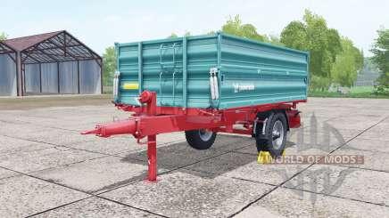 Farmtech EDK 800 desaturated cyan para Farming Simulator 2017