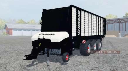 Krone ZX 550 GD Black Edition para Farming Simulator 2013