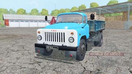 GAZ-53 en celadon para Farming Simulator 2015