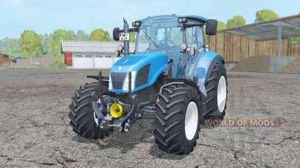New Holland T5.115 FL console para Farming Simulator 2015