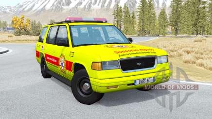 Gavril Roamer Soccorso Alpino v1.4 para BeamNG Drive