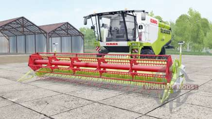 Claas Lexion 750 white and green para Farming Simulator 2017