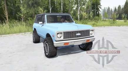 Chevrolet K5 Blazer 1972 para MudRunner