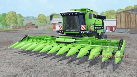 Deutz-Fahr 7545 RTS soft lime green para Farming Simulator 2015