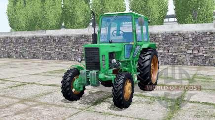MTZ-82 Belarús Caribe de color verde para Farming Simulator 2017
