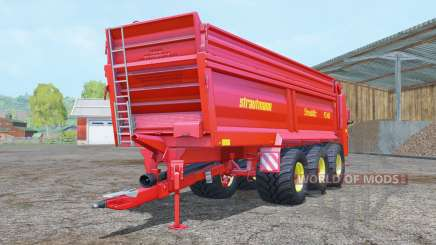 Strautmann PS 3401 vivid red para Farming Simulator 2015