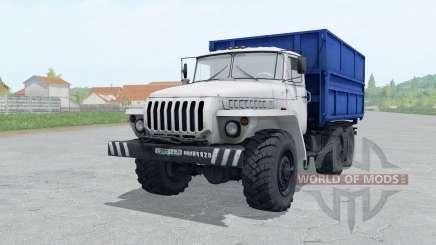 Ural 5557 blanco para Farming Simulator 2017