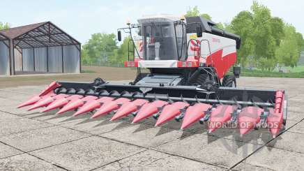 Torum 765 de color rojo brillante para Farming Simulator 2017