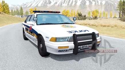 Gavril Grand Marshall Vancouver Police para BeamNG Drive