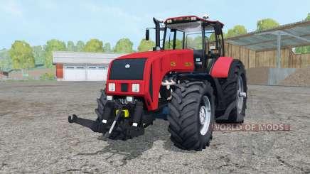 Belarús 3522 color rojo brillante para Farming Simulator 2015