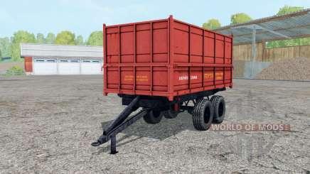 PTU-7.5 suave de color rojo para Farming Simulator 2015