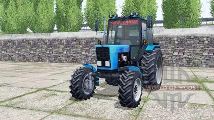 MTZ-82.1 Belarús con cargador para Farming Simulator 2017
