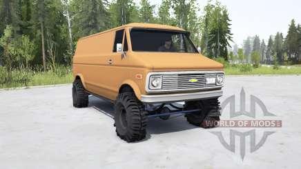 Chevrolet G10 1975 para MudRunner