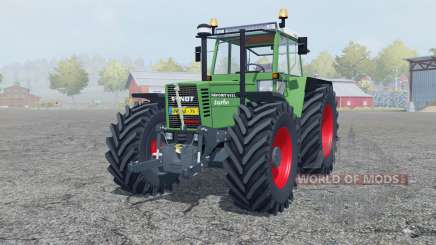 Fendt Favorit 615 LSA Turbomatik chateau green para Farming Simulator 2013