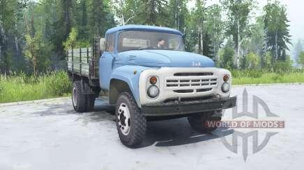 ZIL 130 suave de color azul para MudRunner