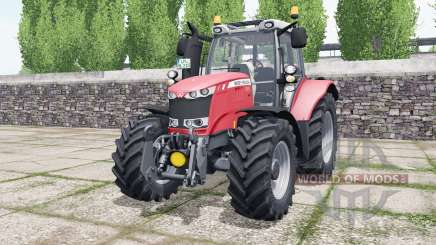 Massey Ferguson 6616 sizzling red para Farming Simulator 2017
