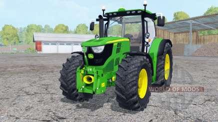 John Deere 6170Ɍ FL para Farming Simulator 2015