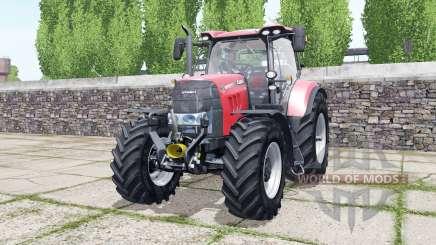 Case IH Puma 165 CVX bright red para Farming Simulator 2017