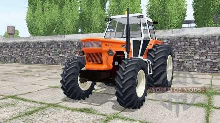 Fiat 1300 DT super vivid orange para Farming Simulator 2017