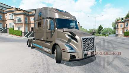 Volvo VNL 860 Globetrotter cab 2019 para American Truck Simulator