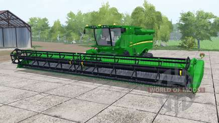 John Deere S690i islamic green para Farming Simulator 2017