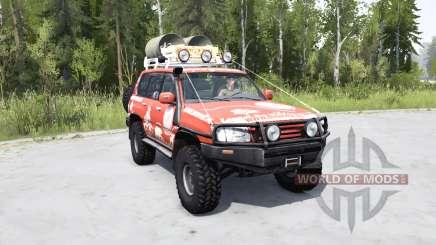 Toyota Land Cruiser 100 Trophy para MudRunner