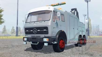 Mercedes-Benz NG 1632 tow truck para Farming Simulator 2013