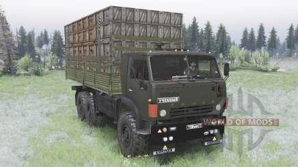 KamAZ-5320 para Spin Tires