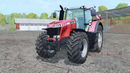 Massey Ferguson 8737 light red para Farming Simulator 2015