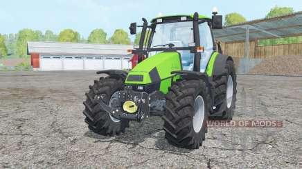 Deutz-Fahr Agrotron 120 Mk3 change wheels para Farming Simulator 2015