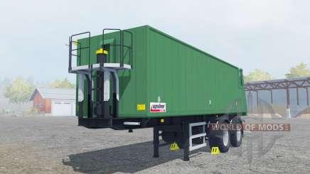 Kroger Agroliner SMK 34 green cyan para Farming Simulator 2013