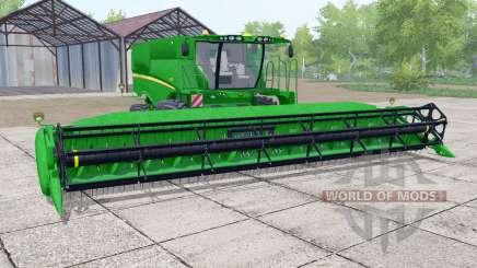 John Deere S670 header trailer para Farming Simulator 2017